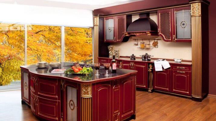 Кухни на заказ  от производителя фото 7 метров