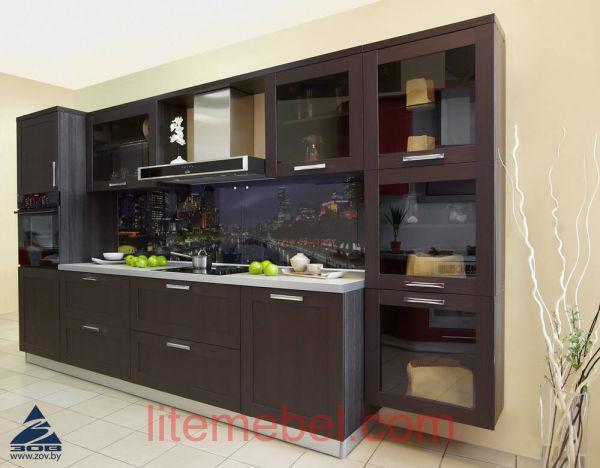 Кухня с фасадами Техно