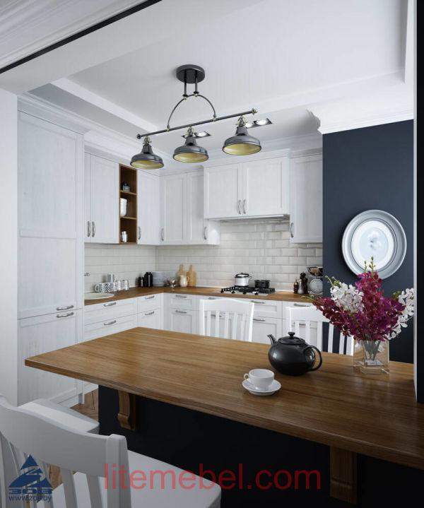 Кухня с фасадами Марсель-4 Дижон