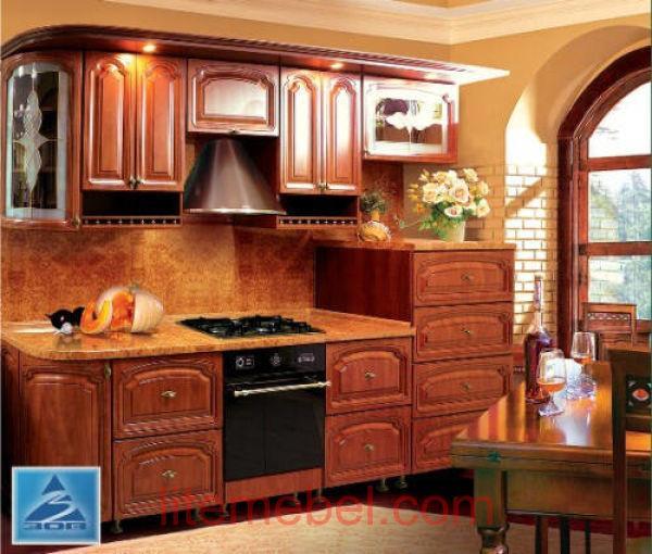 Кухня с фасадами Альфа-2