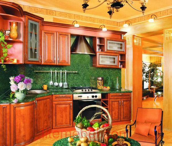 Кухня с фасадами Турин