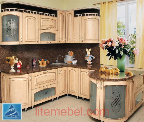 Кухня с фасадами Ретро