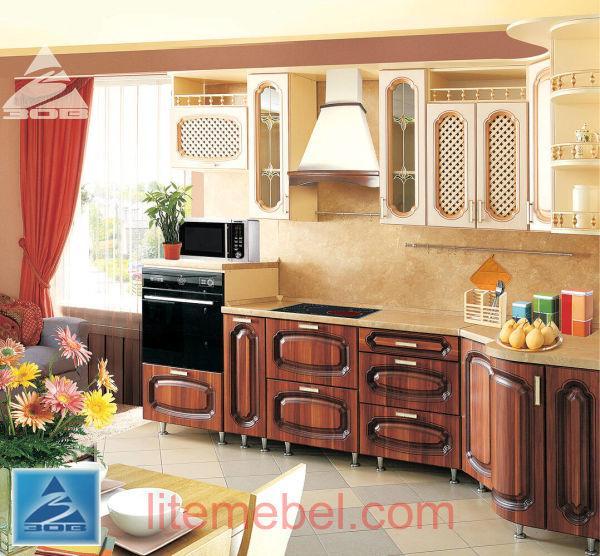 Кухня с фасадами Женева