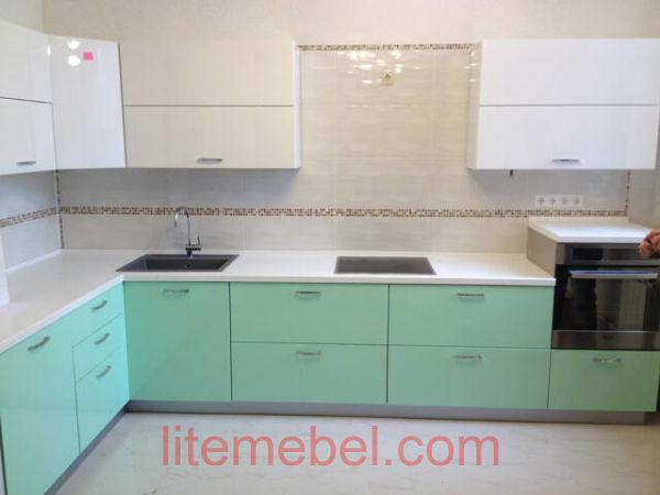 Кухня крашенными с фасадами Система, Проект № 2129