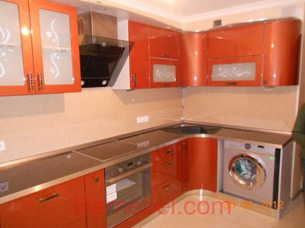 Кухня крашенными с фасадами Система, Проект № 2140
