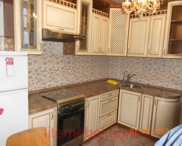Кухня с фасадами София, Проект № 5162
