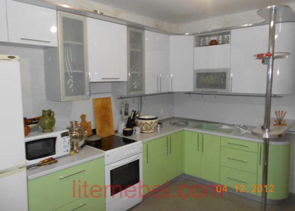 Кухня с фасадами Пост-5, Проект № 3398