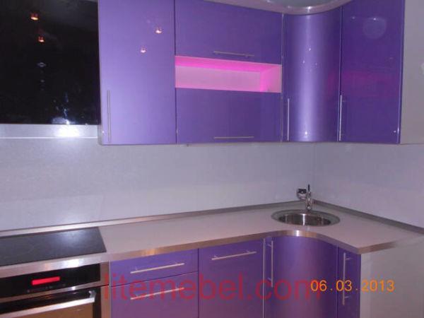 Кухня крашенными с фасадами Система, Проект № 2136