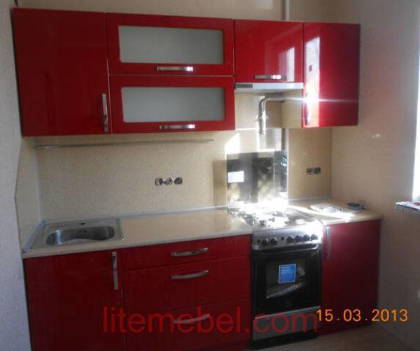 Кухня крашенными с фасадами Система, Проект № 2165