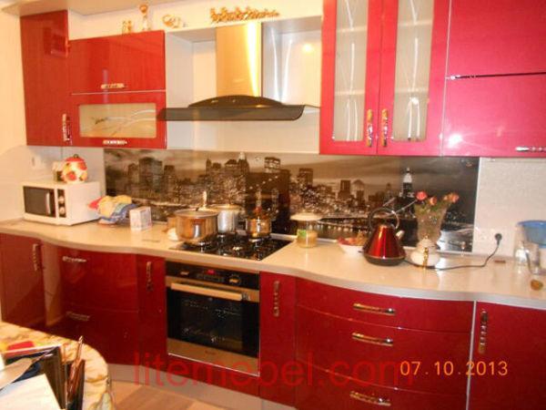 Кухня крашенными с фасадами Система, Проект № 2590