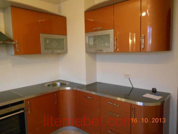 Кухня крашенными с фасадами Система, Проект № 2115