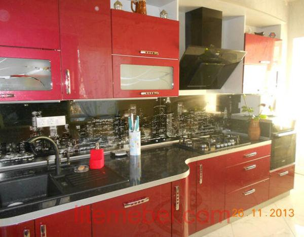 Кухня крашенными с фасадами Система, Проект № 2138