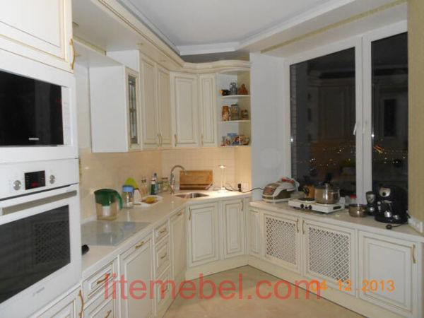 Кухня с фасадами Париж, Проект № 2175