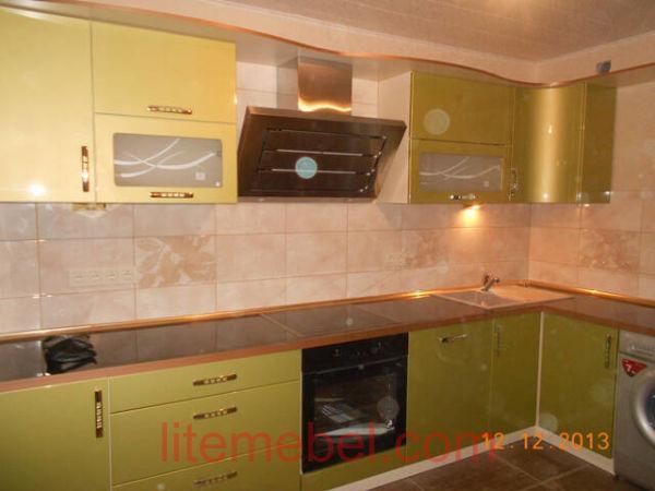 Кухня крашенными с фасадами Система, Проект № 2267