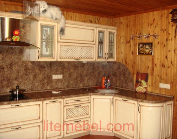 Кухня с фасадами София, Проект № 5200