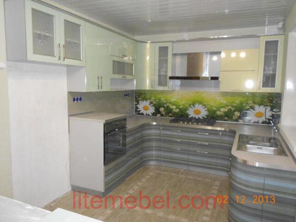 Кухня с фасадами Пост-5, Проект № 3107