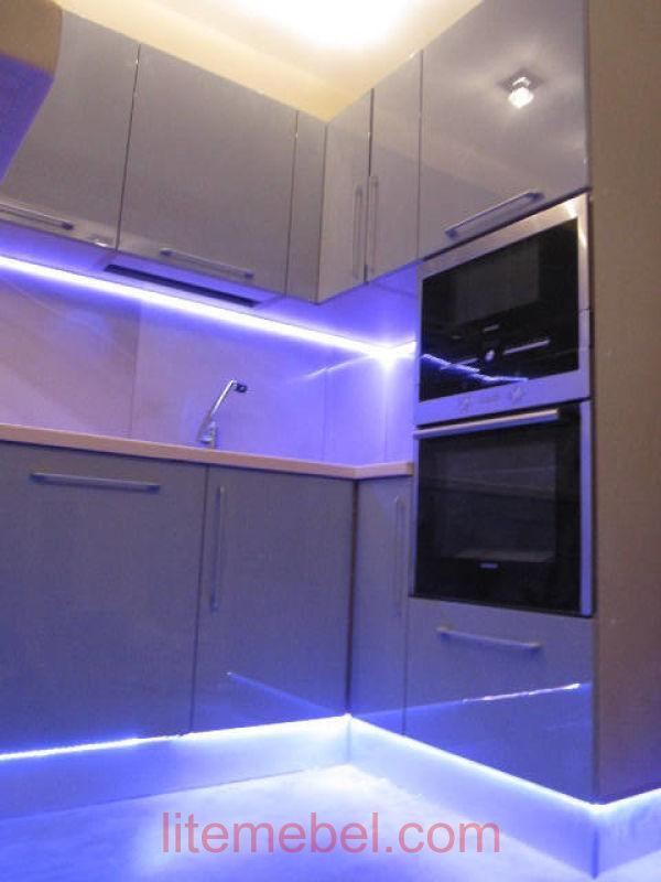 Кухня крашенными с фасадами Система, Проект № 2461