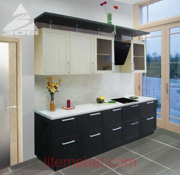 Кухня с фасадами Техно-2
