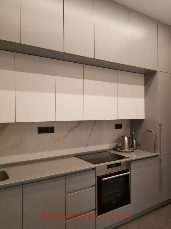 Кухня крашенными с фасадами Система КВ, Проект № 2225