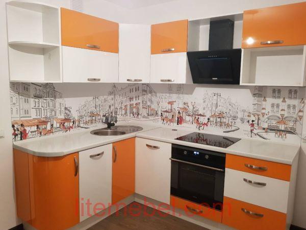 Кухня с фасадами Пост-5, Проект № 3641