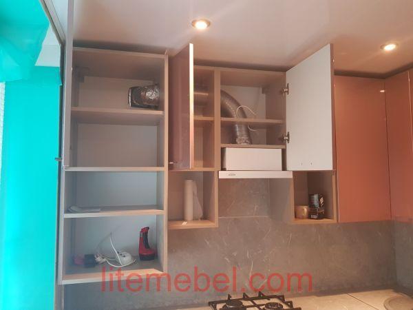 Кухня крашенными с фасадами Система, Проект № 2626