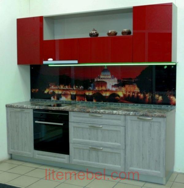 Кухня с фасадом Марсель/Пост-3, Проект № 5143