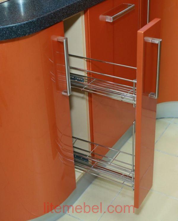 Кухня крашенными с фасадами Система, Проект № 2355