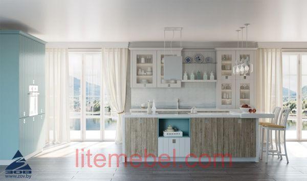 Кухня с фасадами Линнеа
