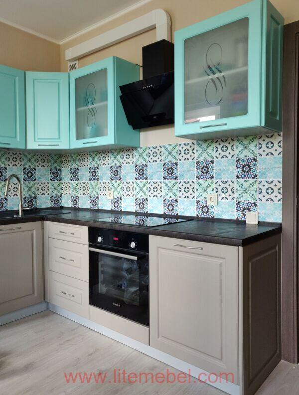 Кухня с фасадами Лонгфорд, Проект № 5847