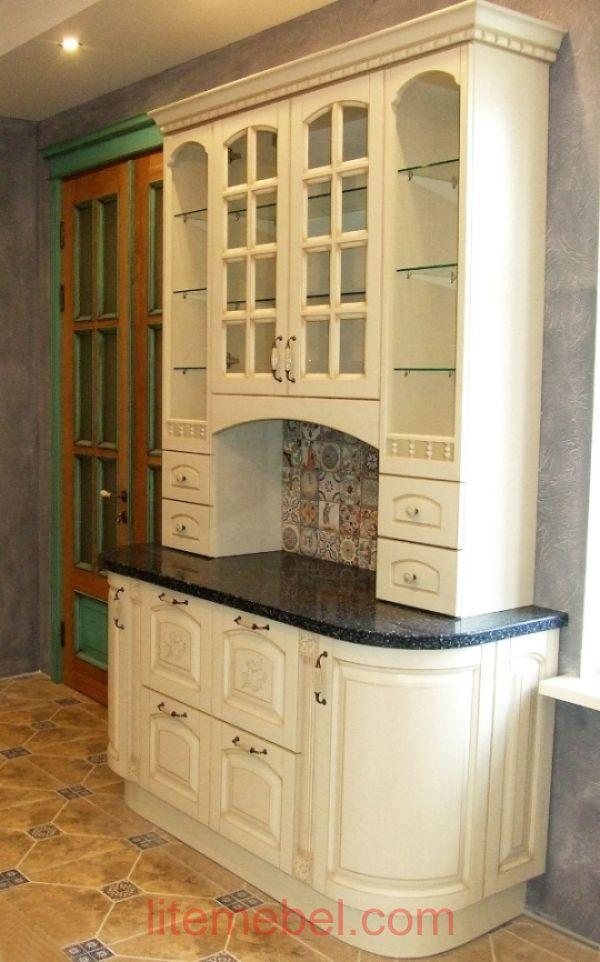 Кухня с фасадом Массив Ясеня, Проект № 4412