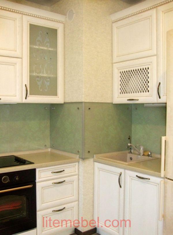 Кухня с фасадом Массив Ясень, Проект № 4251