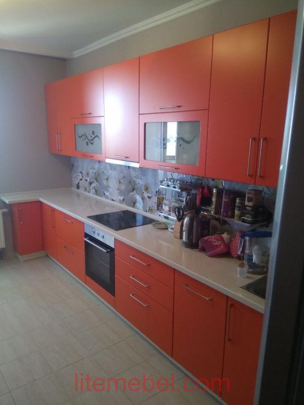Кухня крашенными с фасадами Система, Проект № 2630