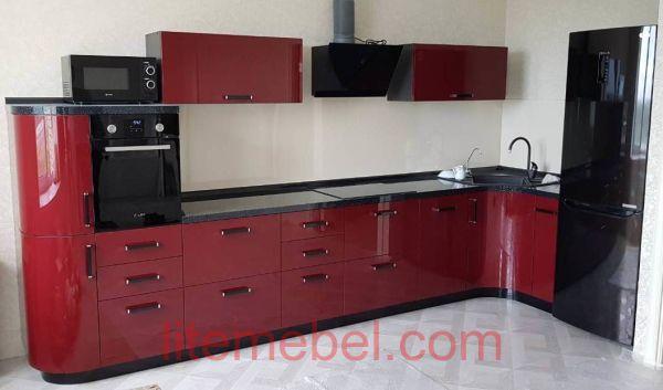 Кухня крашенными с фасадами Система, Проект № 2632