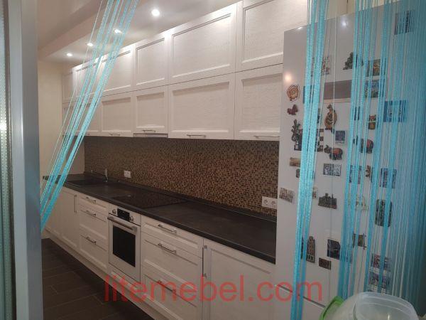 Кухня с фасадами Марсель, Проект № 5684