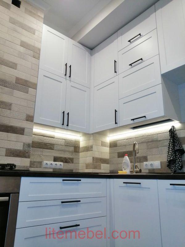 Кухня с фасадами Эйвон, Проект № 2675