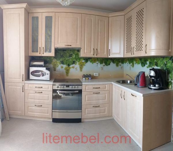 Кухня с фасадом Лонгфорд, Проект № 5678