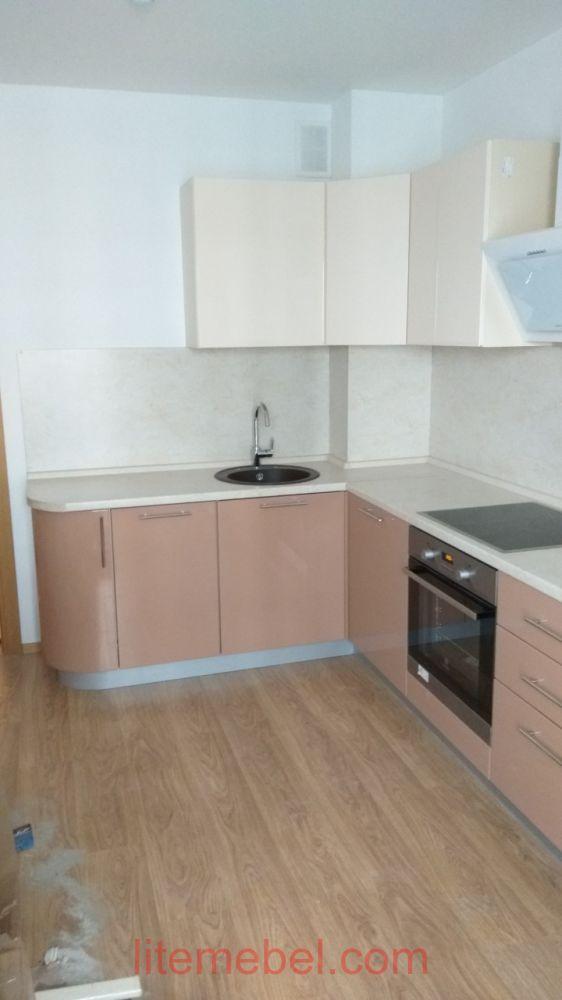 Кухня крашенными с фасадами Система, Проект № 2610