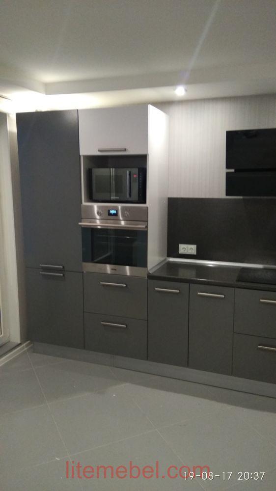 Кухня крашенными с фасадами Система, Проект № 2435