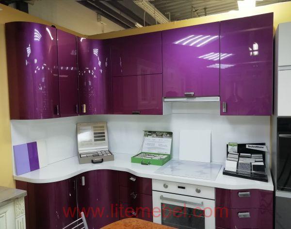 Кухня крашенными с фасадами Система, Проект № 2305
