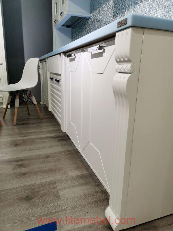 Кухня крашенными с фасадами 99+101, Проект № 2785