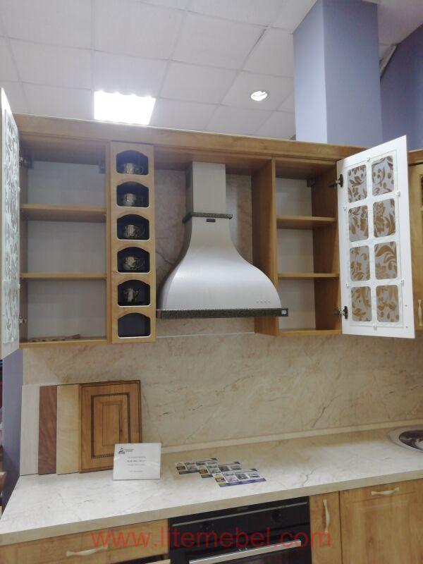 Кухня с фасадом МДФ-ПВХ, Проект № 5357