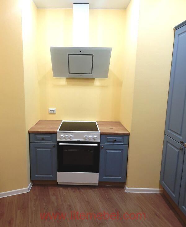 Кухня с фасадами Лонгфорд, Проект № 5356