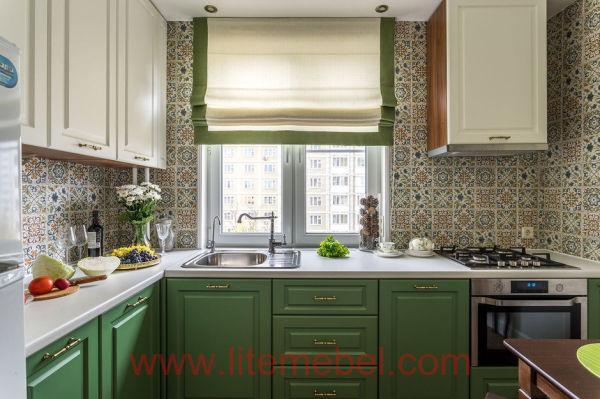 Кухня с фасадами Лонгфорд, Проект № 2391