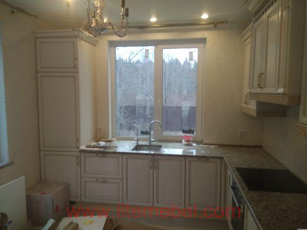 Кухня с фасадом Лоренцо, Проект №5467