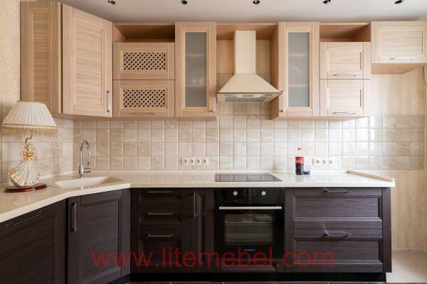 Кухня с фасадом Марсель, Проект № 5013
