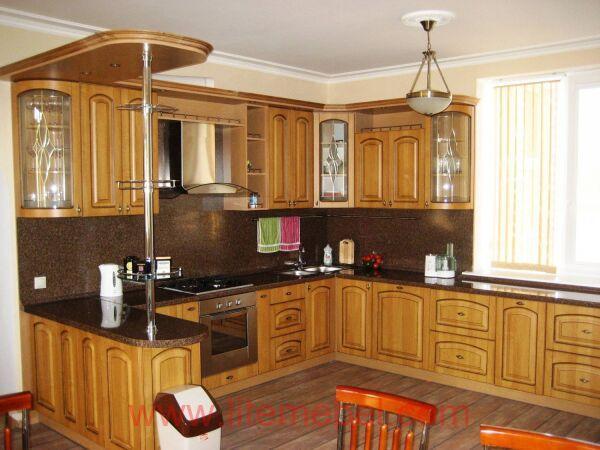 Кухня с фасадами Ретро, Проект № 5336