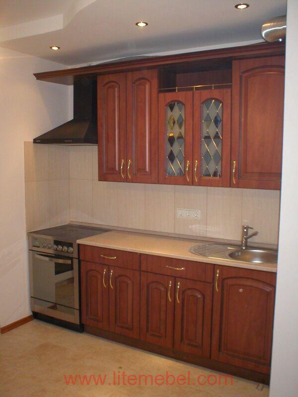 Кухня с фасадами Ретро, Проект № 5933