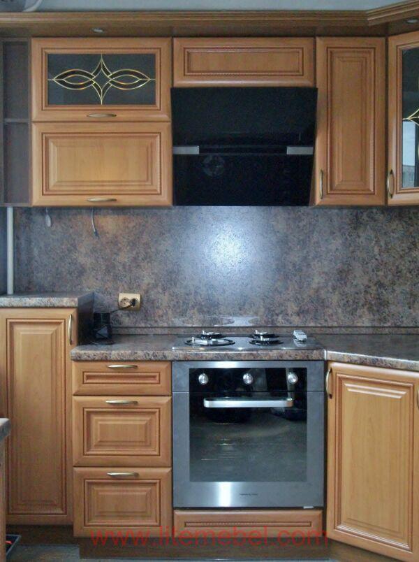 Кухня с фасадом Турин, Проект № 5389