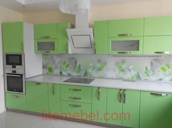 Кухня крашенными с фасадами Система, Проект № 2417