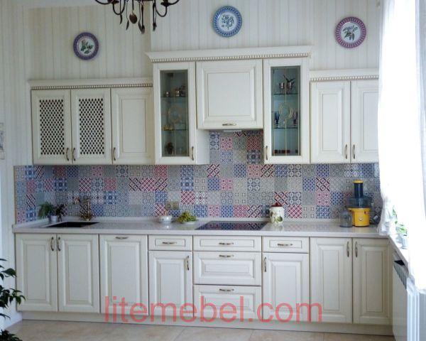 Кухня с фасадом Массив Ольхи, Проект № 4592